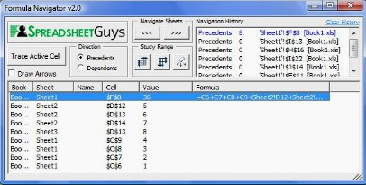 Click to view Formula Navigator 2.0 screenshot